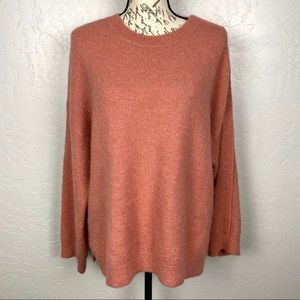 Leith Snap Shoulder Sweater Size Small